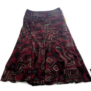 Ruby Rd. Full Skirt with Lining